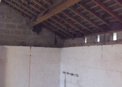 Aménagement ancien garage