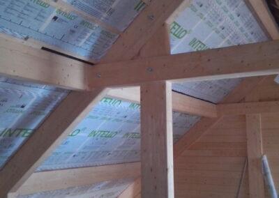 Isolation toiture cellulose