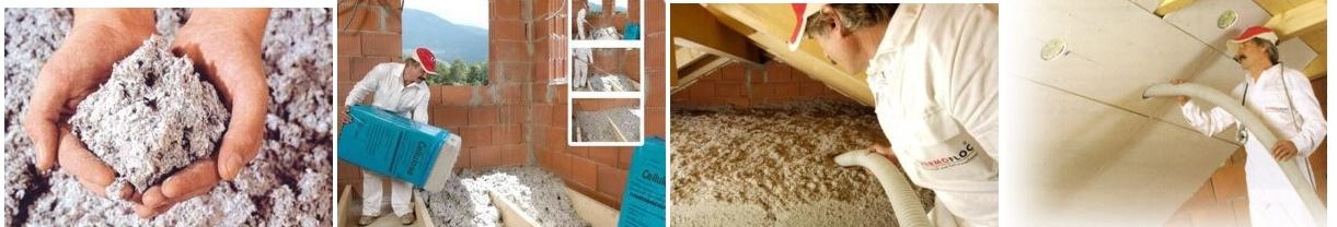 ouate de cellulose isolation maison